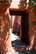 Santa Fe Magic - Garden Sculptures Museum of Art in Santa Fe NM by Susanne Van Hulst