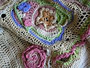 Window Tapestries - Textiles - Garden Shawl by Susannah Flanigan