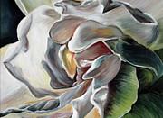 Gardenia II Print by Tatjana Popovska