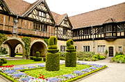 Berlin Germany Posters - Gardens at Cecilienhof Palace Poster by Jon Berghoff