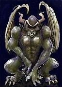 Demon Art - Gargoyle by Kevin Middleton