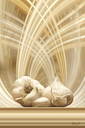Garlic Digital Art - Garlic by Johnny Hildingsson