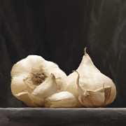 Garlic Digital Art - Garlics by Johnny Hildingsson