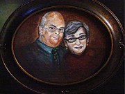 Regina Brandt Art - Gary and Sue Arnold by Regina Brandt