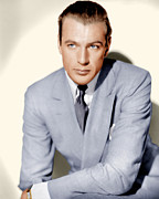 Gray Suit Framed Prints - Gary Cooper, Ca. 1936 Framed Print by Everett
