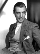 Movie Star Photos - Gary Cooper, Portrait by Everett