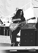 Concert Photos Art - Gary Rossington at Day on the Green by Ben Upham