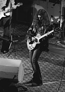 Concert Photos Art - Gary Rossington Winterland by Ben Upham