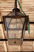 Oil Lamp Photos - Gas Lamp French Quarter by KG Thienemann