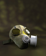 Device Prints - Gas Mask Print by Christian Darkin