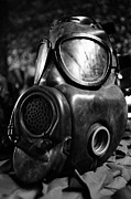 Survival Prints - Gas mask Print by Gaspar Avila