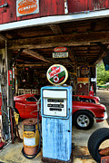 Chief Framed Prints - Gas Pump -Texaco Sky Chief Globe Framed Print by Paul Ward