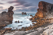 Atlantic Ocean Framed Prints - Gate In the Ocean Framed Print by Evgeni Dinev