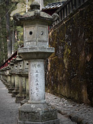 Samurai Photo Prints - Gate Sculptures Print by Irina  March