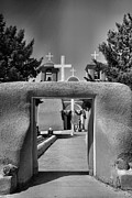 Taos Posters - Gate To San Francisco de Asis Poster by Steven Ainsworth