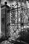 Framed Photograph Metal Prints - Gate To St. Michaels Metal Print by Steven Ainsworth