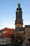 Steeple Photos - Gatehouse Weimar City Palace by Christine Till