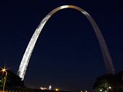 Nancy  de Flon - Gateway Arch at Night