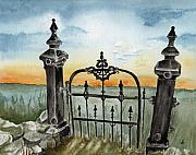 Maine Artist Paintings - Gateway by Brenda Owen