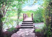 Color Pencil Drawings - Gateway by Nils Beasley