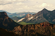 Mountain Range Photos - Gateway To Yellowstone National Park by Flash Parker