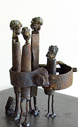 Weld Sculptures - Gathering by Johan Jonsson