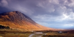 Rannoch Photo Prints - Gathering Storm Glencoe Print by John McKinlay