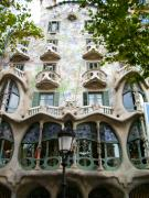 Mosaic Photos - Gaudi Architecture by Laura Kayon