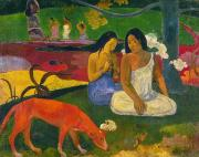 Islander Prints - Gauguin: Arearea, 1892 Print by Granger