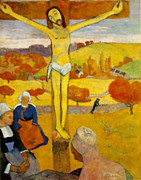 Paul Gauguin Posters - Gauguin The Cross Poster by Pg Reproductions