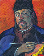Self-portrait Prints - Gauguin Print by Tom Roderick