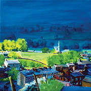 County Paintings - Gayle and Hawes by Neil McBride