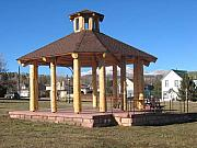 Structure Sculptures - Gazebo At Fairplay Colorado by Chaz  Della Porta