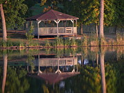 Sandy Owens - Gazebo Reflection