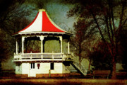 Joel Witmeyer Prints - Gazeebo Print by Joel Witmeyer