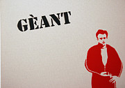 James Dean Painting Originals - Geant by Michael Ringwalt