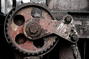 Gear Wheel Posters - Gear wheel Poster by Mats Silvan