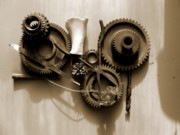 Technical Photo Originals - Gears II by Jan  Brieger-Scranton