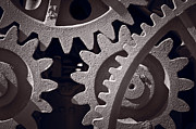 Equipment Photo Originals - Gears Number 1 by Steve Gadomski