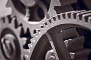 Antique Photo Originals - Gears Number 3 by Steve Gadomski
