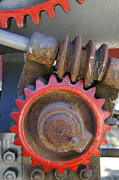 Mick Anderson - Gears of Restored Steam Tractor