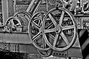 Miami River Photos - Gears by William Wetmore