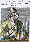 Alchemy Posters - Geber (fl. 721-776) Poster by Granger