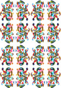 Pattern Tapestries - Textiles - Gecko by Ky Wilms