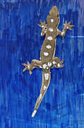 Sticky Framed Prints - Gecko Locomotion Study Framed Print by Volker Steger