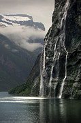 Sisters Art - Geiranger Fjord, Norway by Chris Hopkins