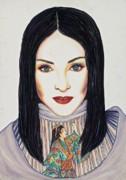 Geisha Walls Print by Joseph Lawrence Vasile