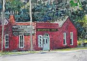 Nashville Tennessee Paintings - Geist and Sons Forges Nashville by Chris Ousley