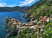 Lanis Rossi Prints - Gem of the Cinque Terre Print by Lanis Rossi