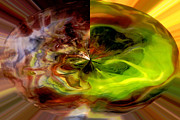 Radiates Photos - Gem Within - Abstract Art by Carol Groenen
